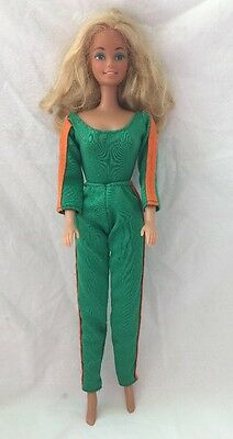 Vintage SINDY Barbie Doll GREEN & ORANGE Bodysuit And Leggings Pants