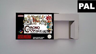 Chrono Trigger  - Repro box with insert - NTSC/ PAL - SNES.