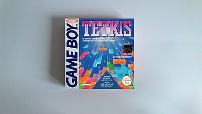 Tetris  - box only - Gameboy /GB - thick cardboard.