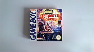 Castlevania 2 Belmont's Revenge  - box only - GB/ Game Boy - thick cardboard.