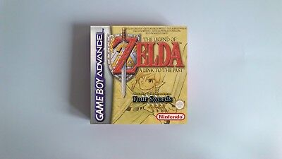 The Legend of Zelda a Link to the Past FS - box only - GBA - thick cardboard.