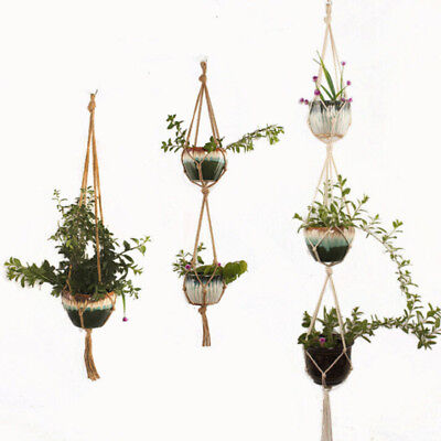 Outdoor Hanging Basket Balcony Hand crafted Gardening Plant