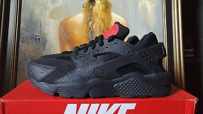 on sale f3137 da253 Nike Air Huarache Run F Size 12 Russian Floral Black University Red A03153  001