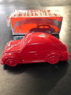 Vintage Avon Red Volkswagen Bug (full) Oland After-Shave with original box