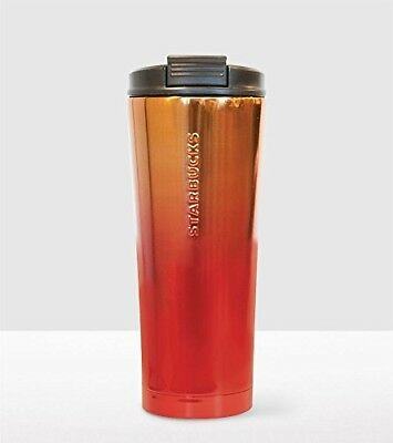 Starbucks Lunar Chinese New Year Stainless Steel Tumbler 470ml Gradient Gold