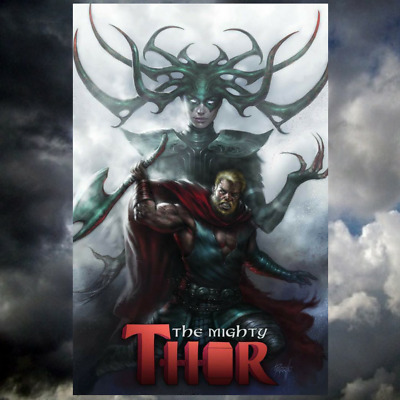 Mighty Thor #700 Lucio Parrillo Variant Marvel Legacy Hela Death Of Thor