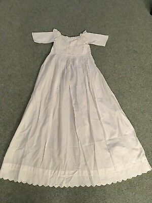 Antique Baby's Christening Gown. Great Item, Very Pretty
