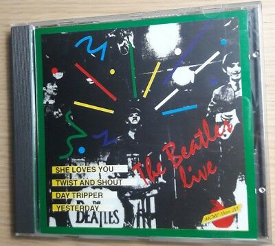The Beatles Live 1964/1966 (Cd) Dv More Records