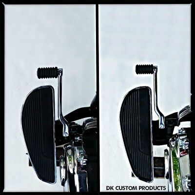 Rider Floorboard Extensions for Harley M8 Softail Models with Shift Peg Space