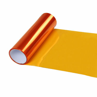 Headlight Tint  Tail Light Film Orange 30Cm X 1M Vinyl Tint Sticker Wrap  Uk