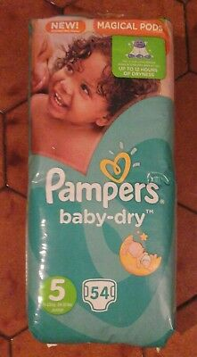 162 Pampers Baby Dry  - Taille 5 Junior - 11 À 23 Kgs