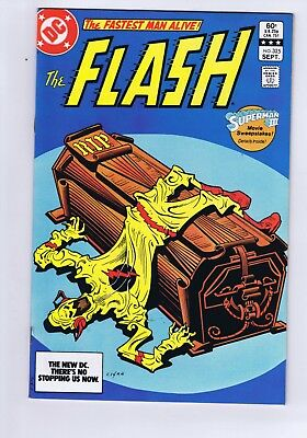 The Flash #325 Death Of Reverse Flash Storyline Vfn