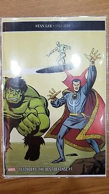 Defenders Best Defense #1 Buscema Remastered 1:200 STAN LEE Tribute cover NEW