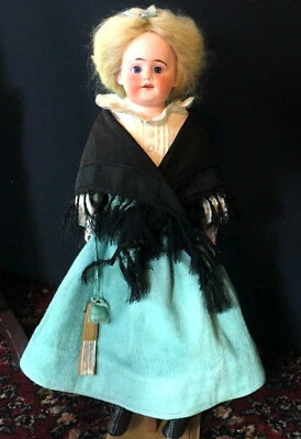 Early Kestner or Simon Halbig # 1a-x Mystery Doll - Antique Bisque Head German