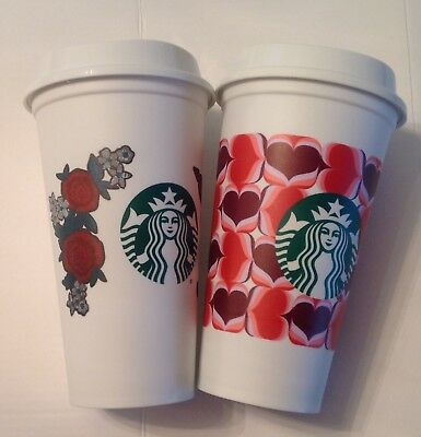 Starbucks 2019 Reusable Valentine Cups Canada