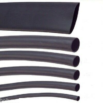 Black Heat Shrink Car Electrical Tube Sleeving Cable Various Sizes & Length