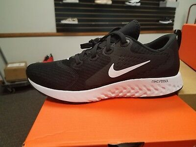 bb5ccafccdf0b Brand New in Box Men s Nike Legend React Running Shoes AA1625-001 BLACK  WHITE