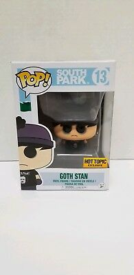 Funko POP Goth Stan South Park #13 Hot Topic Exclusive
