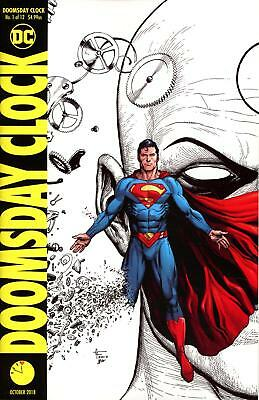 Doomsday Clock #1 (4Th Print) Variant Cover Rebirth Dc Nm Watchmen Sold Out!