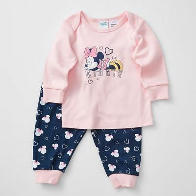 NEW Disney Baby Minnie Mouse Pyjama Set