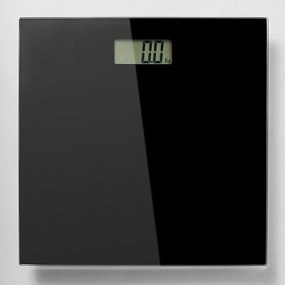 NEW Glass Electronic Bathroom Scales - Black