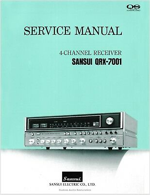 SANSUI SERVICE MANUALS, owners manuals and schematics on 3