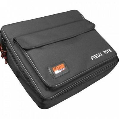 Gator GPT-PWR Powered Pedal Tote Pedalboard with Carry Bag Black. Free Delivery