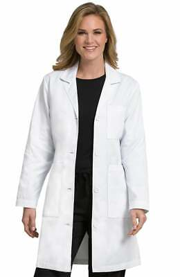 LAB COAT Medical Nurse Vet Dentist Doctor,  Laboratory WHITE LABCOAT, 7 Sizes