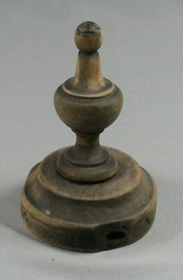 Vtg Wood Finial Architectural