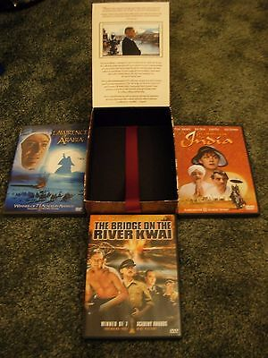 The David Lean DVD Collection Rare Box Set Never Used Lawrence of Arabia