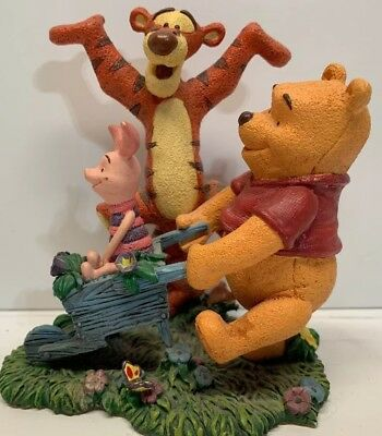 Simply Pooh - Spring Is What Tiggers Do Best Figurine