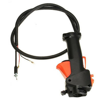 Strimmer Switch Black Trimmer Brush Cutter Throttle Cable for various strimmer