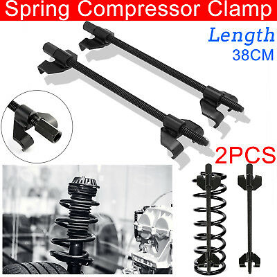 2x 380mm Spring Compressor Coil Clamp Heavy Duty Car Truck Auto Installer Tool