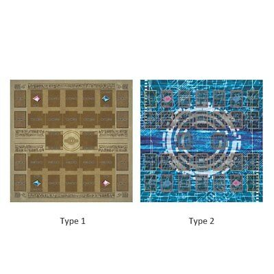 Yu-gi-oh Card Rubber Play Mat 60 × 60cm Two style Link summon Correspondence Mat