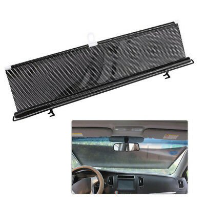 Car Window Retractable Windshield Visor Sun Shade Auto Block Cover 58*125cm 2018