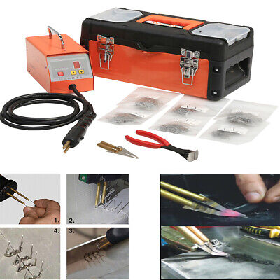 Hot Stapler Kit Welder Welding Machine 220V AC Plastic Auto Bumper Body Repair