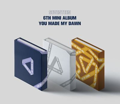 [SEVENTEEN] You Made My Dawn (3 Ver set) CD+Photocard+Photobook+Sticker+Gift