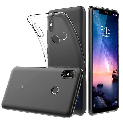 Coque Silicone TPU Clear gel Ultra Fine Xiaomi Redmi Note 6 Pro 6.26""