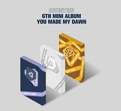 [SEVENTEEN] You Made My Dawn Kihno Album(3 Ver Set) Kit+Cards+Instruction+Gift