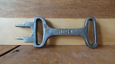 Vintage REGA Cast Iron Spanner Key Knapsack Sprayer Farm