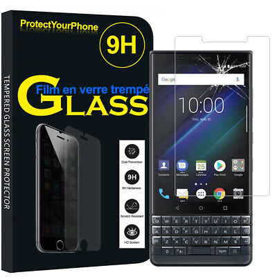 Vitre Protection Écran Film Verre Trempe BlackBerry KEY2 LE 4.5""