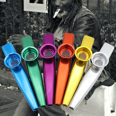 6 Pcs Set Party Supplies Metal Gift Durable Funny Kazoo Musical Instrument