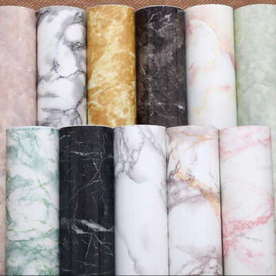 Marble Gloss Film Vinyl Self Adhesive Counter Top Peel And Stick Wall Decal