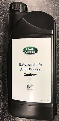 Genuine Land Rover Extended Life Anti-Freeze Coolant - Stc50529
