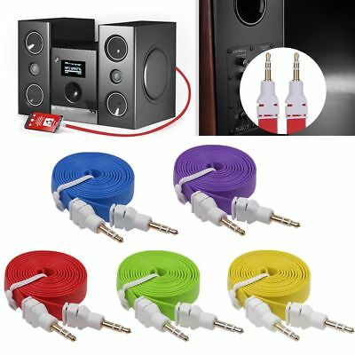 1M 3.5mm Male to Male Car Aux Auxiliary Cord Stereo Audio Cable For Phone PC Car