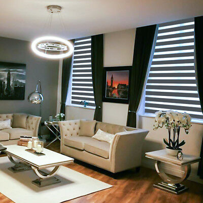 MOTORISED Made to measure Day & Night / Zebra / Vision Blinds - ATLANTA