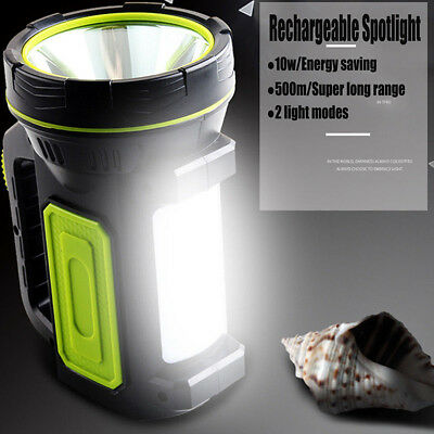 135000Lm Led Rechargeable Work Light Torch Candle Camping Spotlight Hand Lamp