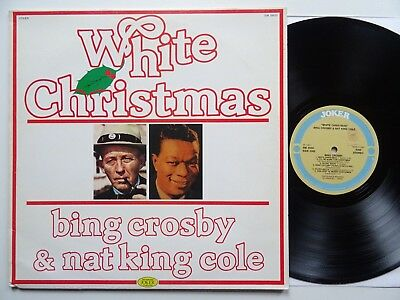 LP: Bing Crosby & Nat King Cole: White Christmas (Joker SM 3930; mint-)