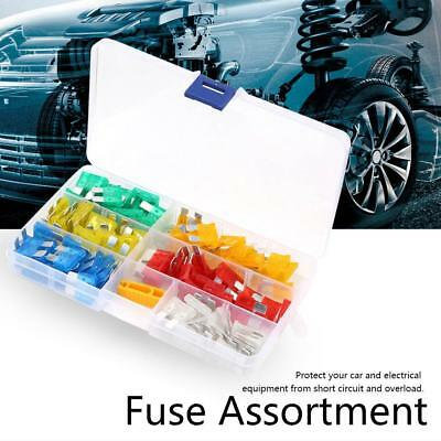 120x Profile Small Size Mini Blade Fuse Assortment Auto Car Truck Fuses Kit Set