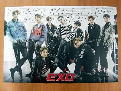 EXO - Don't Mess Up My Tempo (Vivace Ver.) [OFFICIAL] POSTER *NEW* K-POP